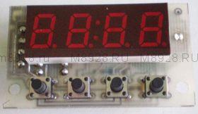 Часы электронные с термометром  Ч2Т-0,4