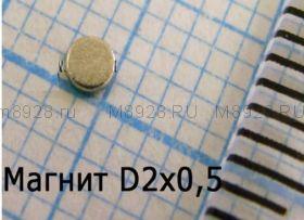 Магнит 1.5x0.5мм N33