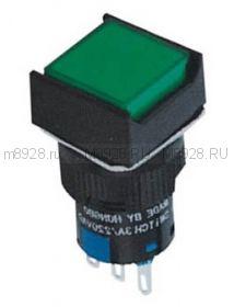 Кнопка А16 зеленая