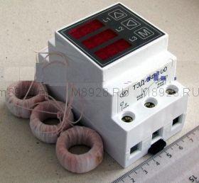 Автомат токовой защиты 3 фазных электродвигателей ТЗД-3Ф-100